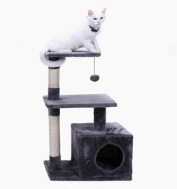 "Pawz Road 34"" Cat Tree, Kitten Activity Tower Condo Stand,"