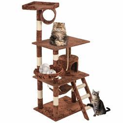 """BestPet 64"""" Cat Tree Tower Condo Furniture Scratch Post Kitt"""