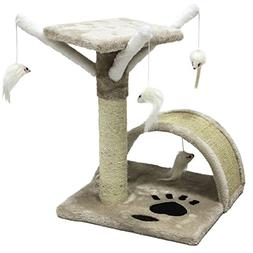 CUPETS Pet Products Cat Activity Trees Pet Furniture Toy Bed