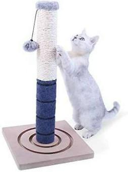 cat scratcher Claw toy pole Cat tower Claw polish Natural he