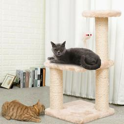 Cat Tower Kittens Pet Play House Cat Activity Tree Condo Scr
