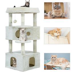 Cat Tree Cat Tower Cat Condo Playground Cage Kitten Medium M