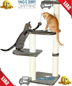 """Cat Tree For Large Cats 46"""" Tower H Climbing Pet Scratcing p"""