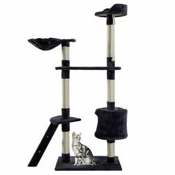 "New 60"" Cat Tree Tower Condo Scratcher Furniture Kitten Pet"
