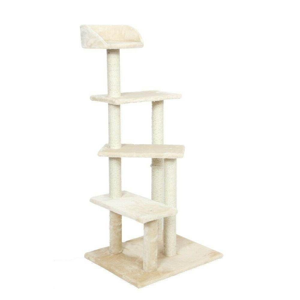 50 cat tree activity tower condo stand