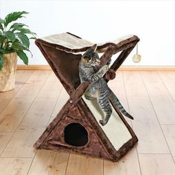 TRIXIE Pet Products Miguel Fold and Store Cat Tower, No Tax,