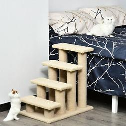 Pawhut Multi-Level Scratching Post Cat Tree Climber