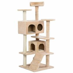 New Cat Tree Tower Condo Furniture Scratch Post Kitty Pet Ho